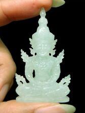 "Natural BURMA ""A"" JADEITE JADE Thai Imperial / Emerald Buddha Carving Statuette"