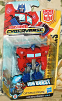 "Optimus Prime Ion Burst 3"" Transformers Cyberverse Hasbro Scout class NEW Toy"