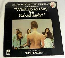 What Do You Say to a Naked Lady?: Soundtrack [Still-Sealed Copy]