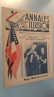 Rivista I Annali Di L Illusione per Lettera N° 6&7 Giugno-Luglio 1945
