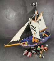 Playmobil Corsair Pirate Ship 5810 With Figures & Accessories