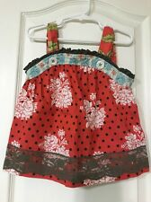 Matilda Jane Serendipity OLD FASHIONED ETHEL TOP Size 4 EUC