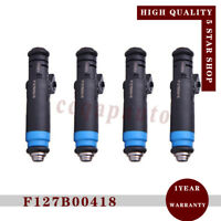 4-PCS F127B00418 Fuel Injector 80lb EV1 850cc for V8 LT1 LS1 LS6 High Impedance