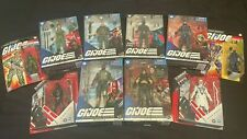 G.I. Joe Classified & 3.75 10 Figure Lot!. Snake Eyes, Zartan, Storm Shadow NIB!