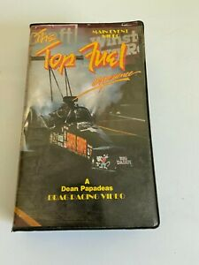The Top Fuel  Drag Racing Experience VHS Main Event video Big Daddy 1987