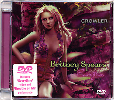 BRITNEY SPEARS - DVD SINGLE - EVERYTIME - RARE DELETED MUSIC VIDEO