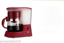 Red High Quality Coffee Machine Multi-Functional Coffee Machine Pot Coffee Maker