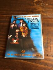 The Rolling Stones Worlds Greatest Albums Dvd Big Hits Brand New Sealed