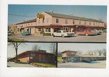 McNeal Hi-Way Hotel-Motels 57th & Urbandale Des Moines Iowa USA Postcard 178b