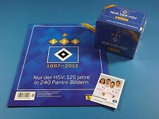 Panini Hamburger SV - 125 Jahre HSV Album + Display 50 Tüten + Sondersticker
