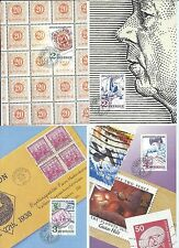 Sweden stamps.1986 Postal History Maxi Cards Maximum cards set of 4 used (Y883