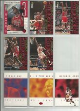 Basketball lot--95 different cards--many nice inserts, Michael Jordan, Shaq, +++