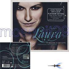 """LAURA PAUSINI """"PRIMAVERA IN ANTIPICO"""" RARO BOX 2 CD + DVD PLATINUM EDITION"""