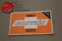 67 Corvair Owners Manual