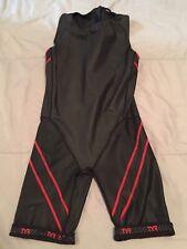 Tyr Torque Pro Shortjohn Swimskin Speedsuit - Small Medium - Black