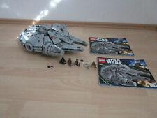 LEGO STAR WARS 7965 Millennium Falcon mit Figuren und Bauplänen