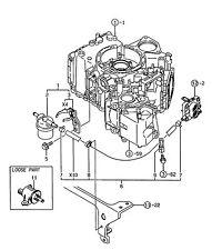 Authentique countax Yanmar D50LN D1850 JCB 2050 Diesel Pompe À Carburant 11820052100 -476