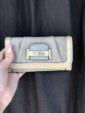 Guess Tri-Fold Wallet - Tan / Beige / Nude / Cream
