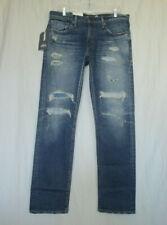 LEVI'S 30 X32 NWT 511 Made & Crafted Japanese Selvedge Big E Slim Jeans Alton