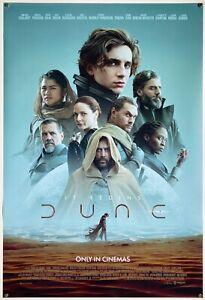 Dune | original DS movie poster 27x40 INTL | Villeneuve Timothée Chalamet