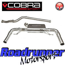 Cobra Clio RS 200 Exhaust Cat Back System Stainless Non Resonated Louder RN07