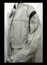 SPARCO GIACCA DOWNTOWN LUNGA GRIGIO TG.50 MOTORCYCLE SCOOTER JACKET
