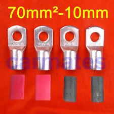 4 X Battery Cable Lead Lug Terminals 70-10 Car Invertor Generator 12V 24V Light