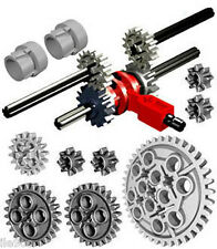 Lego SPEED GEARBOX kit  (transmission,driving ring,gears,clutch,extension,car)