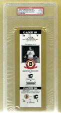 PSA 6 DEREK SANDERSON 1994 Unused NHL Hockey Ticket Boston Bruins at the Garden