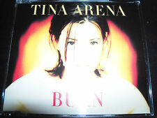 Tina Arena Burn Australian Signed Autographed CD Single – Like New