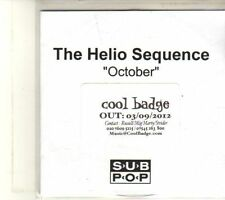 (DT108) The Helio Sequence, October - 2012 DJ CD
