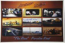"Paul Le Mat Hand Signed 12x18 Photo American Graffiti ""Milner"" Plus COA"