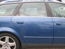 Tür hinten rechts Audi A4 B6 8E Avant denimblau LZ5W hellblau