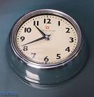 Bengt Ek Design Retro Vintage Art Deco Wall Clock Aluminium   Vanilla Swiss Made