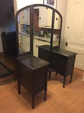 vanity table with drawers (antique)