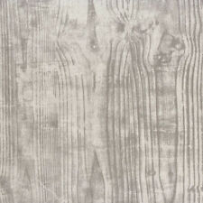 29151333 - Oxyde Grey Woodgrain Casadeco Wallpaper