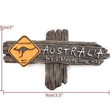 Tour Souvenir Gift 3D Fridge Magnet - It's a bloody Long Way Australia Kangaroo