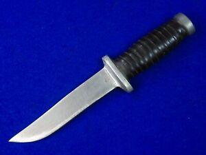 US WW2 Vintage Old Custom Handmade Theater Fighting Knife