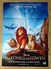 Filmposter * Kinoplakat * A1 * König der Löwen in 3D * 2011