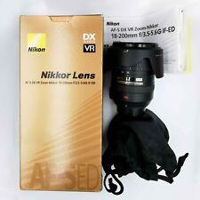 Nikon Nikkor AF-S 18-200mm f/3.5-5.6 DX G ED VR Lens