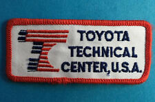 Rare Vintage 1990's Toyota Technical Center Employee Uniform Jacket Patch Crest
