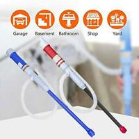 Electric Liquid Fuel Syphon Pump Automatic Transfer Gas Oil Water Battery Favor