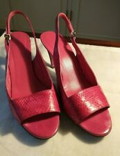 Jil Sander Slingback Strappy Open Toe Heel Shoes - Made in Italy size 38