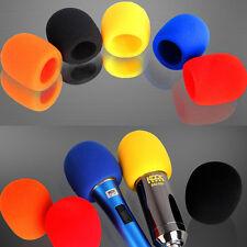 10 X Handheld Microphone Windscreen Foam Mic Cover Karaoke DJ Sales Colors