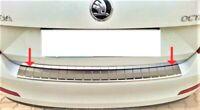 2013-2016 Scoda Octavia Saloon MK3 Chrome Rear Bumper Protector S.Steel