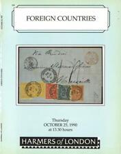 GANZE WELT: Foreign Countries, Harmers of London, 25. Oktober 1990.