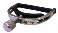PAIGE Original 6-String Standard Acoustic Guitar Capo - Satin Nickel, P-6N
