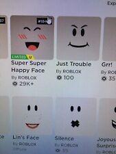 Super Happy Face Roblox Transparent