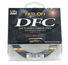 YGK Nitlon DFC Fluorocarbon Leader 100m 20lb