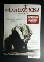 THE LAST EXORCISM BLURAY ART PHOTO MOVIE MINI POSTER BACKER CARD (NOT a movie )